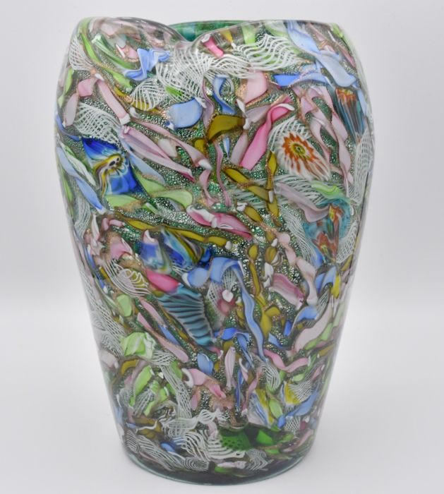 AVEM - Vase - Glass (stained glass)