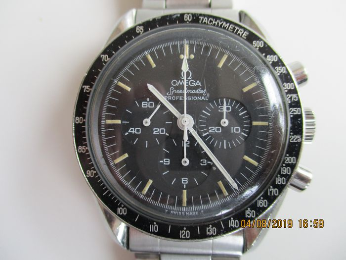 Omega - Speedmaster Professional Moon watch calibre 321 - 145012-67 SP - Herre - 1960-1969