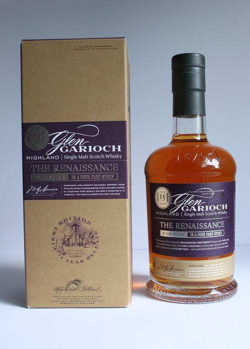 Glen Garioch The Renaissance 15 years old 1st Chapter - Distillery Bottling - 700ml