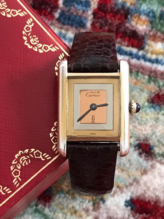 Cartier - Tank Must Vermeil - Women - 1990-1999