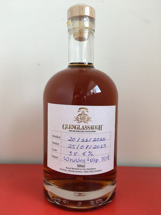 Glenglassaugh 2011 Single cask - Hand filled at the Distillery - Official bottling - 50cl