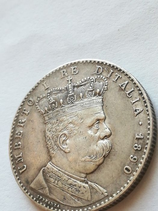 Kingdom of Italy - Eritrea - 2 Lire 1890 - Silver
