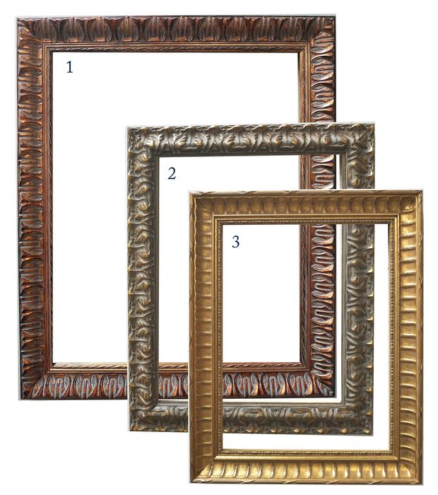 Juhl&Larson - 3 pieces of showframe - Wood