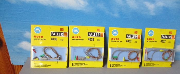 Faller H0 - 4037/4036 - Attachments - traffic lights