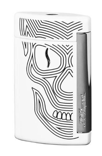 MINIJET BY ST DUPONT WHITE SKULLS - Lighter