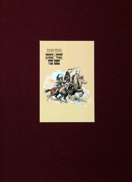 """Paolo Serpieri - vol. limited edition """"West 4 - Visi Rossi"""" - Hardcover - First edition - (2008)"""