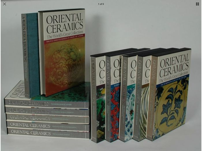 Books on Oriental Ceramics  (12) - Paper - Oriental Ceramics - The World's Great Collections, Tokyo, New York and San Francisco: K - Japan - 1982