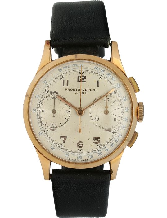 Pronto-Verdal - Arbu - chronograph  - Men - 1960-1969