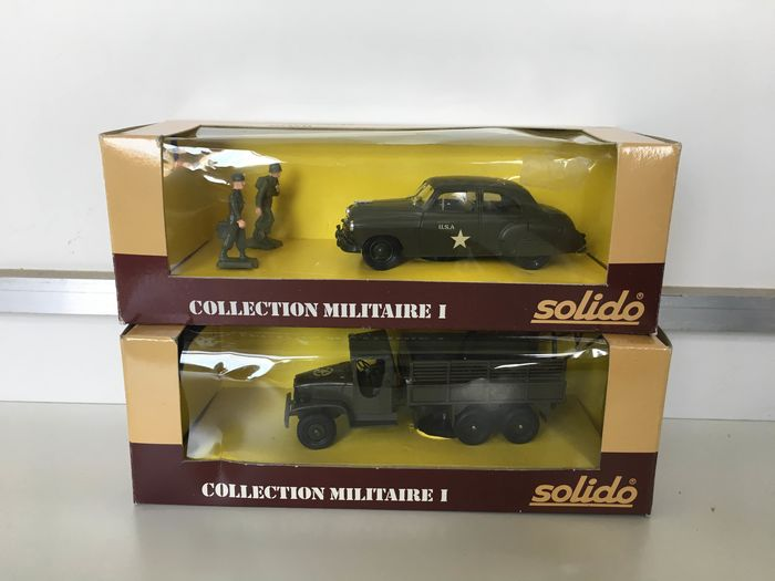 Solido - miniature military car - Unknown - France