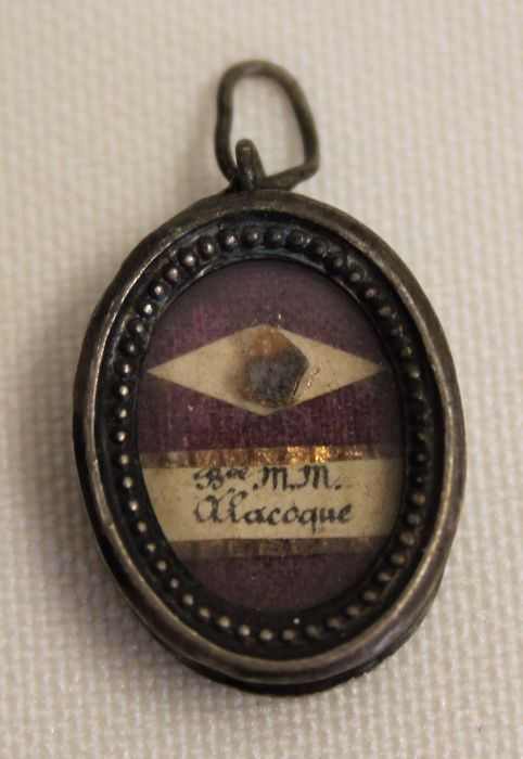 Reliquary, Saint Margaret Mary Alacoque - Bronze (silvered) - Early 20th century