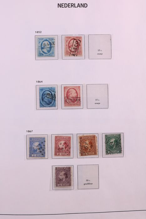 Netherlands 1852/1981 - Collection in DAVO standard pre-printed album