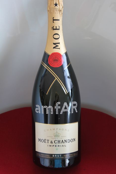 Moet & Chandon - Gala de l'amfAR à New York City 2016 - Champagne Brut - 1 Magnum (1,5 L)