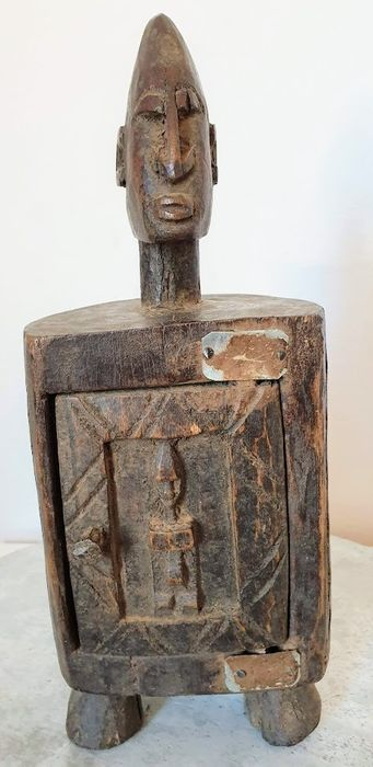 Pharmacy box - Hardwood - Dogon - Mali