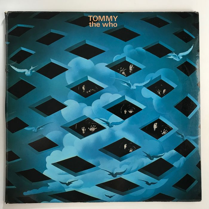 The Who - Tommy [original 1969 UK Track numbered insert A1/B1 pressing LP] - 2xLP Album (double album) - 1969
