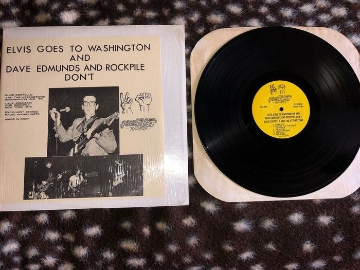 Elvis Costello & Related - Elvis Goes To Washington 2LP/Almost Blue 1LP - Multiple titles - 2xLP Album (double album), LP Album - 1979/2015