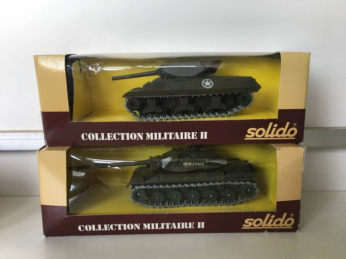Solido - Miniature military tank - Unknown