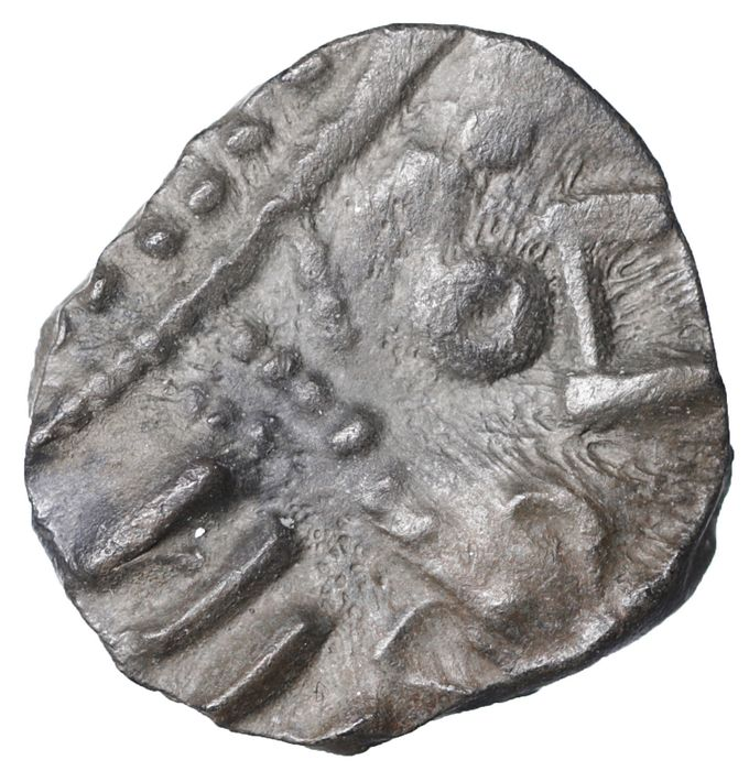 Vikings and Early Anglo-Saxon England - R2 Silver Sceat, 695-740 AD