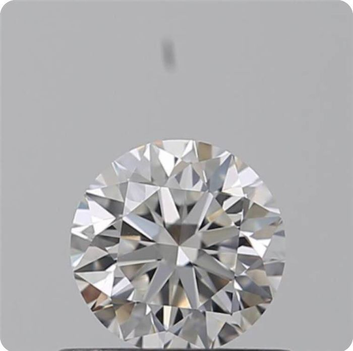 Diamant - 0.51 ct - Brillant - E - IF (makellos), LC (lupenrein)