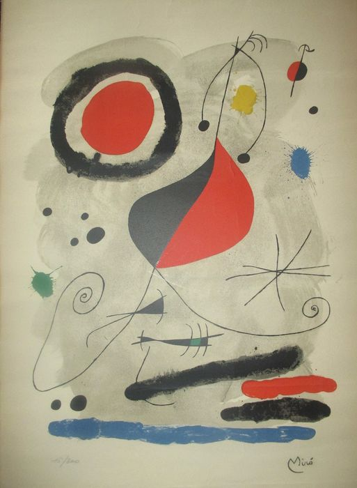Joan Miró - L' Arc