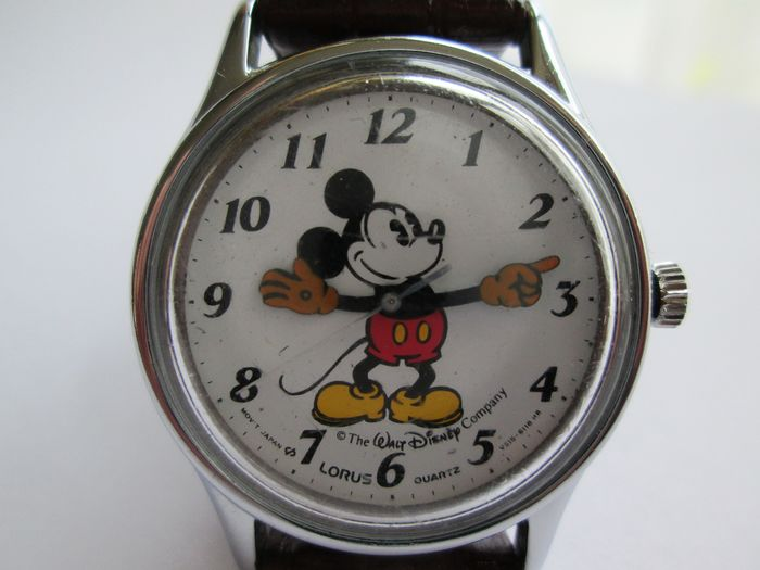 Disney - Walt Disney Mickey Mouse polshorloge 90er jaren - First edition - (1990)