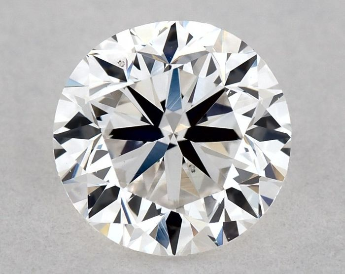 Diamante - 0.70 ct - Brilhante, Redondo - E - VS2, Low Reserve Price + Free FedEx Shipping