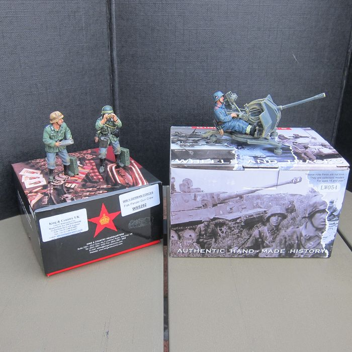King & Country - ws292/lw054 - figures and flak - 2000-present