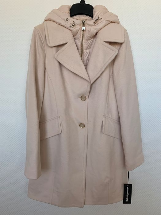 Karl Lagerfeld - New - Never Used  - Wool - Coat Jacket - Size: L