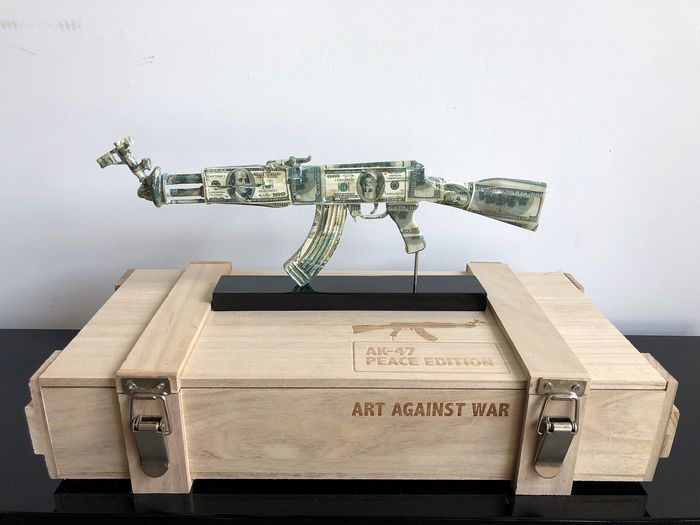 Van Apple - Art Against War Dollars