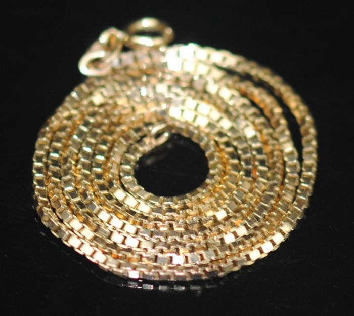 9K Yellow gold - Necklace