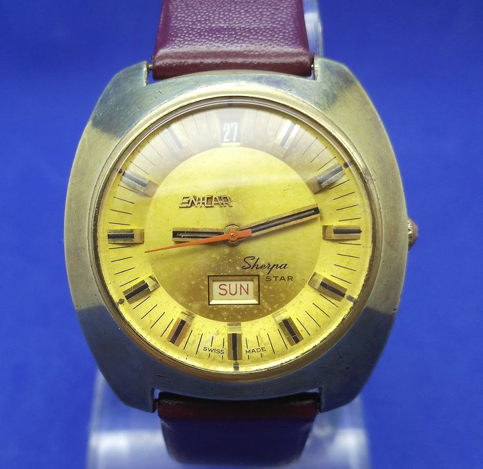 Enicar - Sherpa Star Diver Day Date - 2342 - Men - 1970-1979