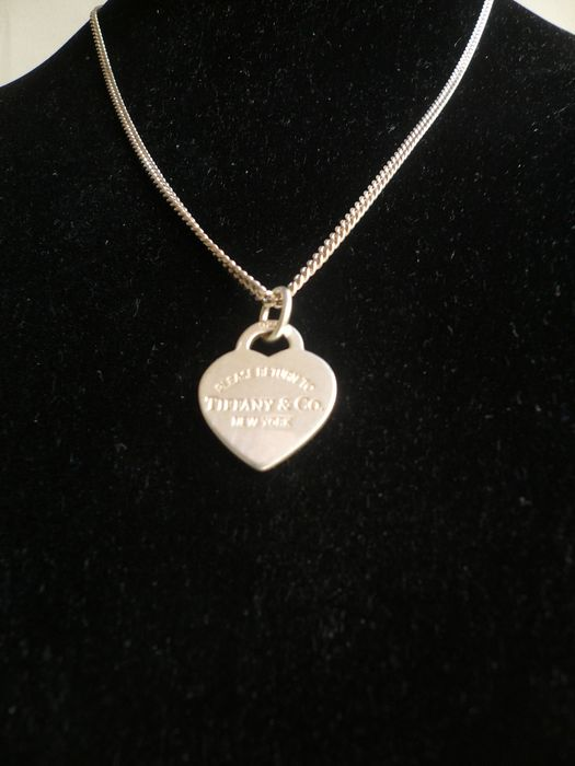 Tiffany Silver - Necklace with pendant