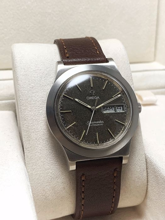 Omega - Seamaster, Day and Date, Nice Patina Dial - Cal. 1022 - Herre - 1970-1979