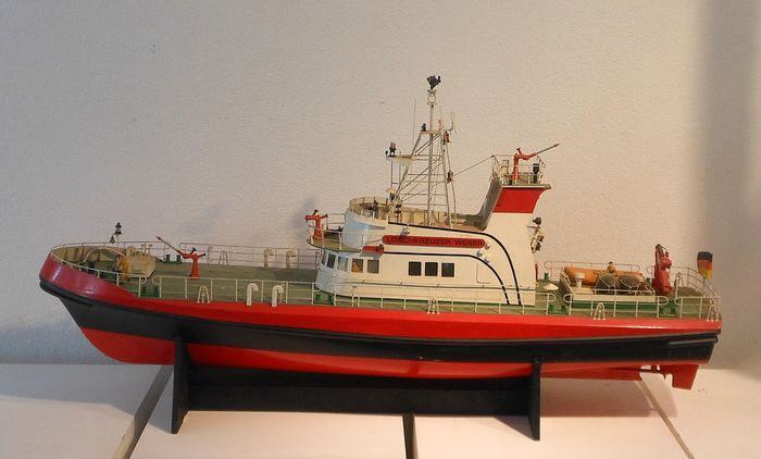 Scale ship model - Wood - Second half 20th century
