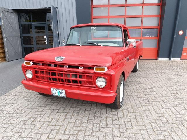 Ford USA - F100 - 1965