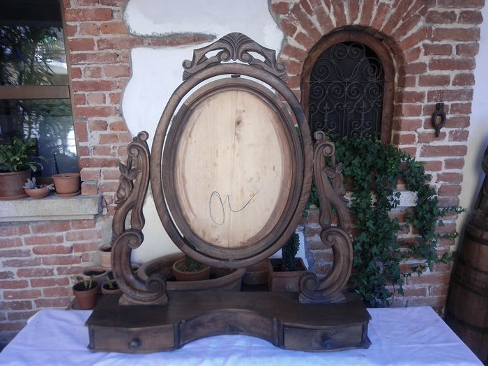 Table mirror (1) - Louis Philippe - Wood - mid 19th century
