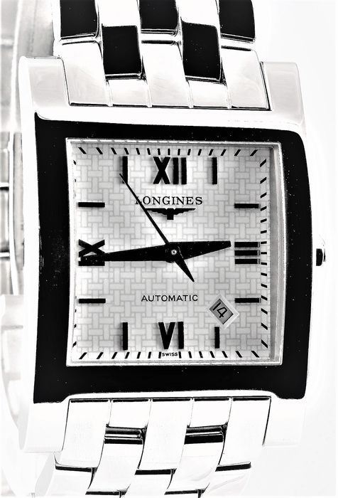 Longines - Dolce Vita - Swiss Automatic - Ref. L5.667.4 - Excellent Condition - Warranty - Men - 2000-2010