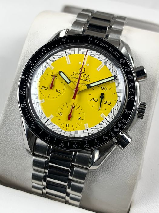 Omega - Speedmaster Reduced Chronograph Automatic Schumacher Edition - 3510.12.00 - Hombre - 2000 - 2010