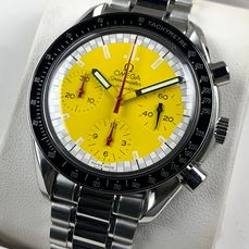 Omega - Speedmaster Reduced Chronograph Automatic Schumacher Edition - 3810.12.40 - Mężczyzna - 2000-2010