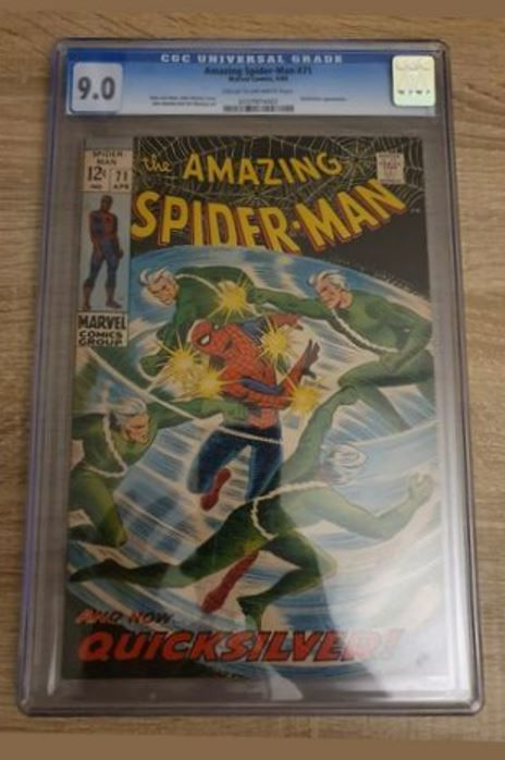 Spider-Man #71 - CGC Graded 9.0 - Stapled - First edition - (1971)