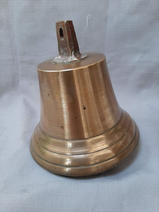 Old ship bell - Brass - mid 20th century