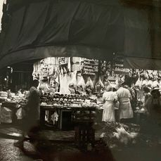 Denise Colomb (1902-2004) - Les Halles, Paris, 1950's