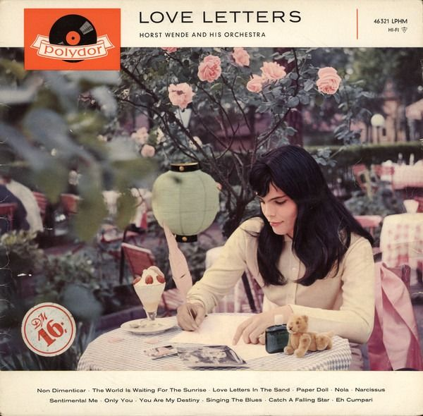 Horst Wende and His Orchestra - Love Letters - LP album - 1959