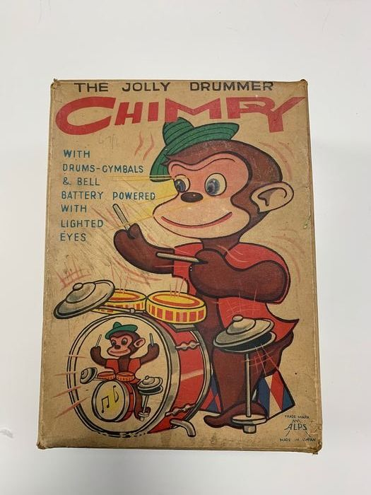 Alps - Macaco The Jolly Drummer Chimy - 1950-1959 - Japão