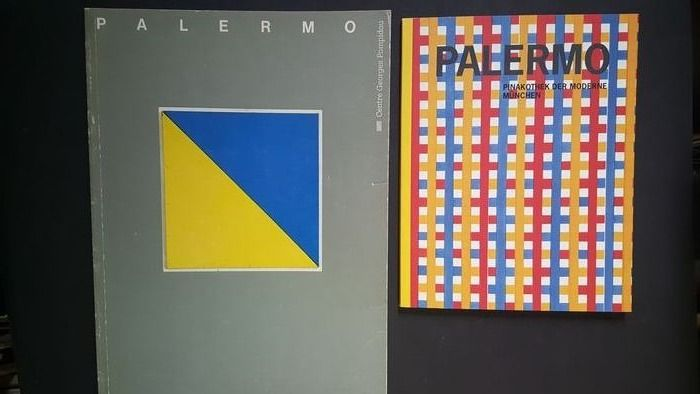 Blinky Palermo - Lot with 2 catalogues - 1985/2001