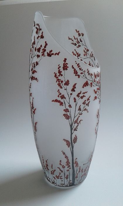 Canal Luciano - Murano - Vase - Glass