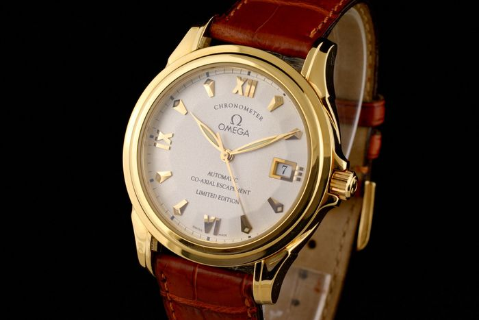 Omega - De Ville Co- Axial Limited Edition 18K Gold Chronometer Automatic - 59113100 - Hombre - 2000 - 2010