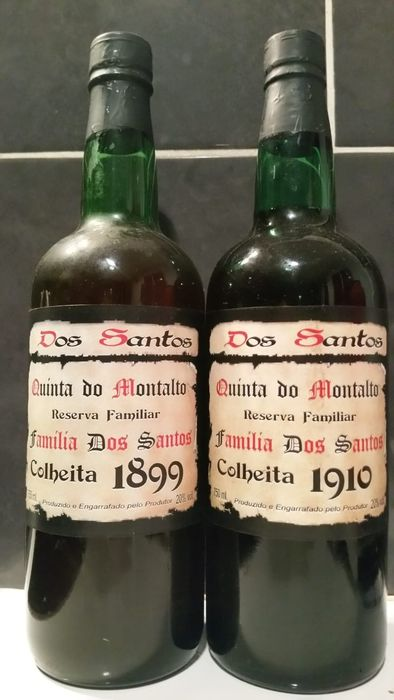 1899 & 1910 Dos Santos - Quinta do Montalto Colheita Port - 2 Bottles (0.75L)