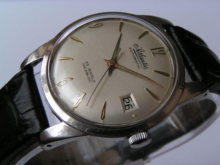 Atlantic - Automatic - ETA - 61660 - Homme - 1970-1979