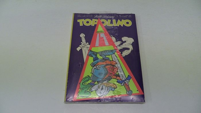 Topolino 987 - Blisterato con bandierina allegata - Softcover - First edition - (1974)