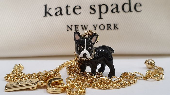 Kate Spade 18kt gold plated Puppy Necklace